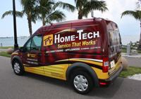 Bradenton HVAC Repair vehicle Home-Tech