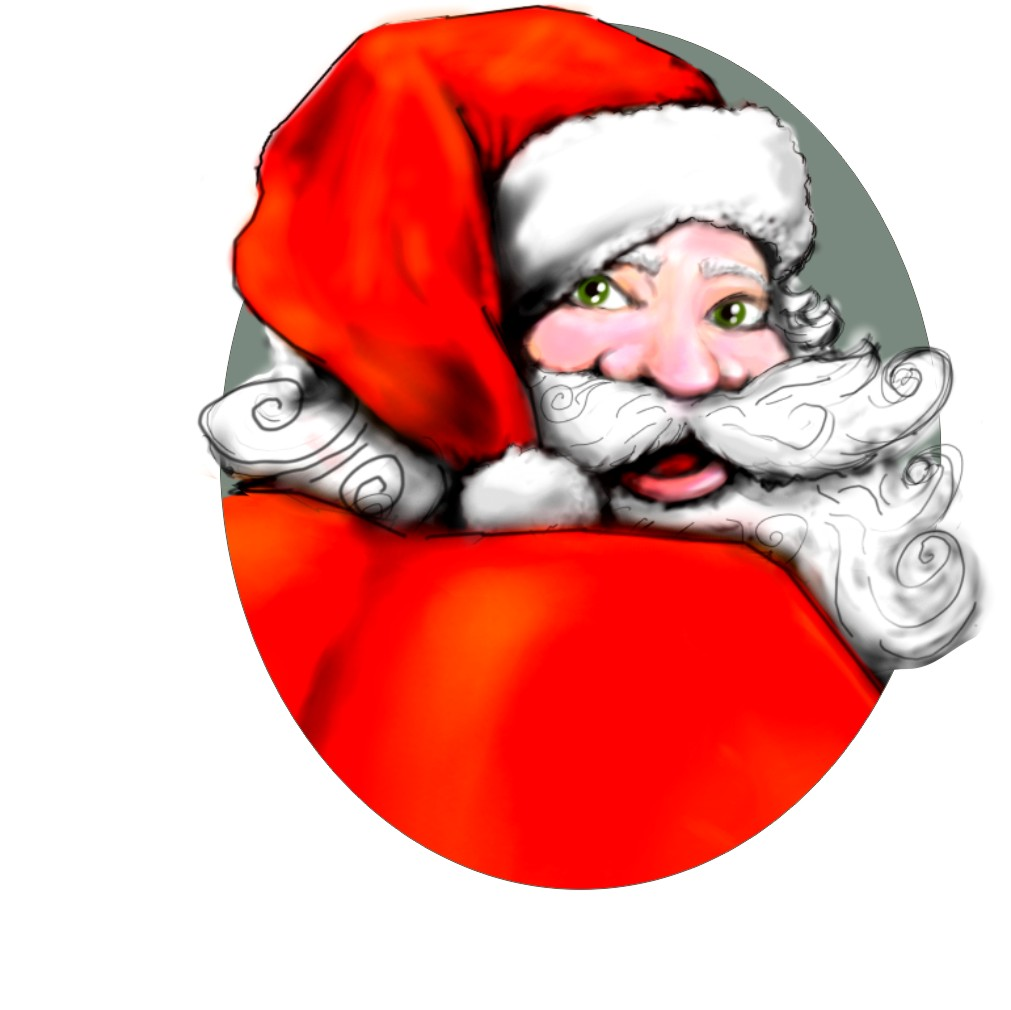 Santa head 12 2014